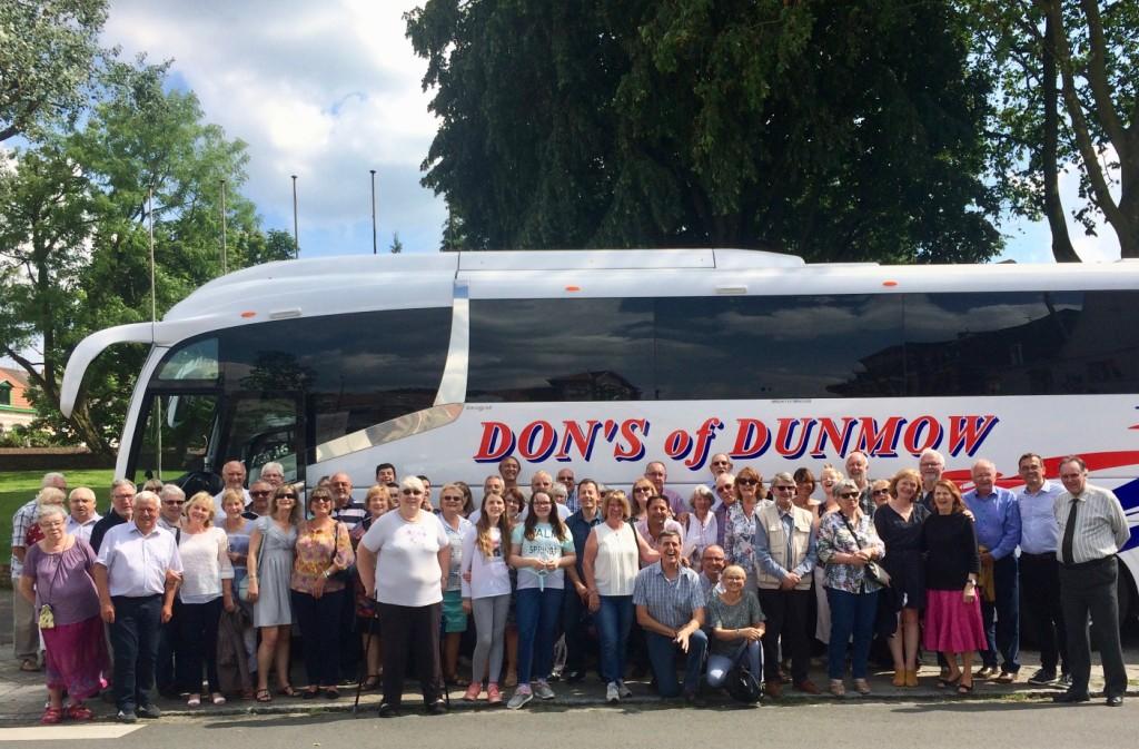 35 year trip coach