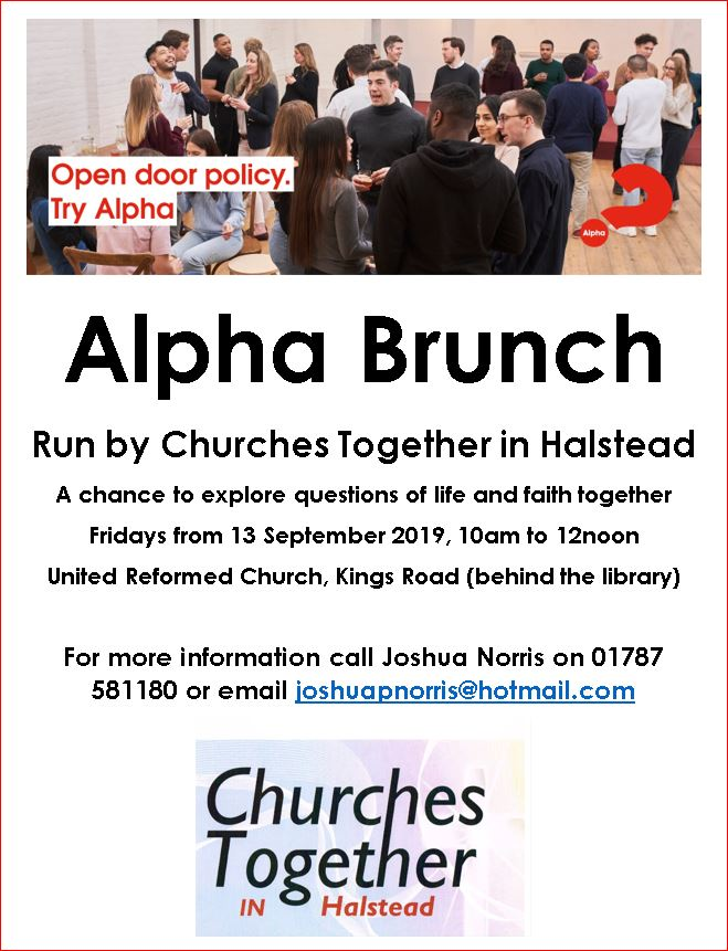 Churches Together Alpha Brunch meetings