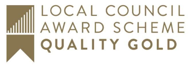 Local Council Award Scheme Gold Creditation Logo